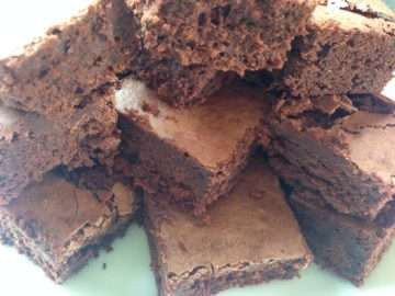 Gluten and dairy-free brownies
