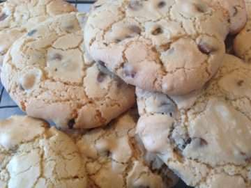 Gluten and dairy-free chocolate chip cookies