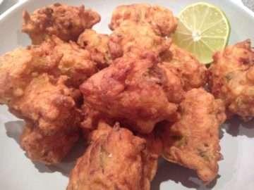 Salt cod accras