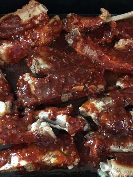 Easy spare ribs