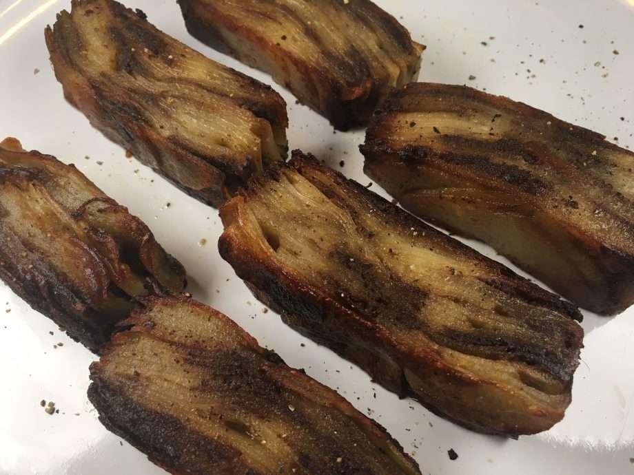 Potato and porcini terrine