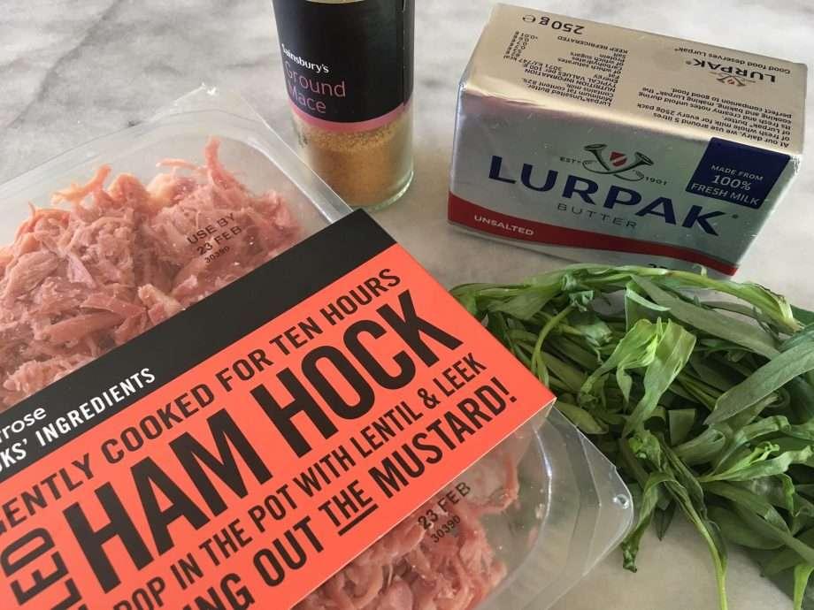 Quick potted ham