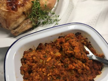 Sobrasada stuffing for chicken