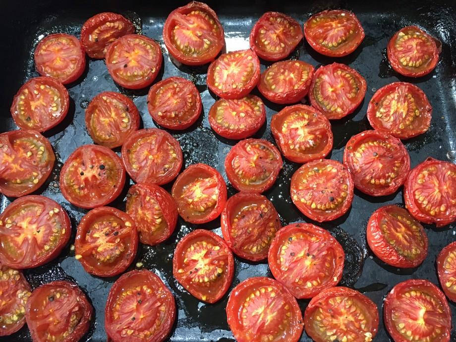 Tomato galette