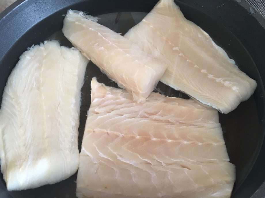 Salt Cod and Roasted Pepper Salad