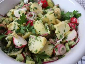 Crunchy Herby Potato Salad