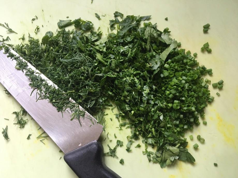 Crunchy Herby Potato Salad