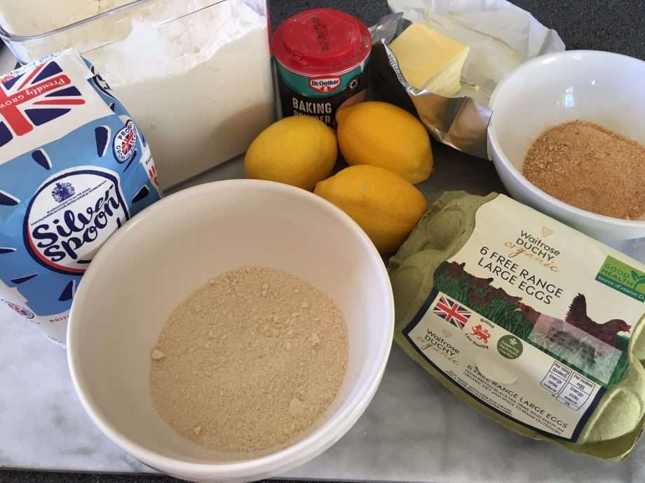 Mini Amaretti and Lemon Drizzle Cakes