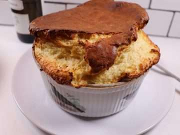 Devilled Crab Soufflé
