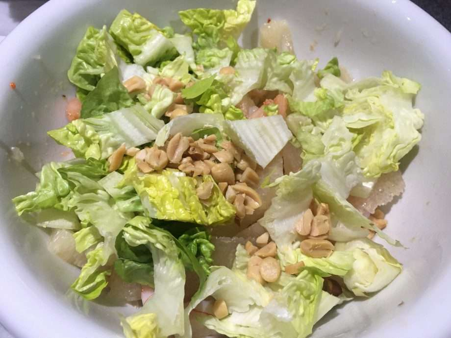 Thai-Style Pomelo and Prawn Salad