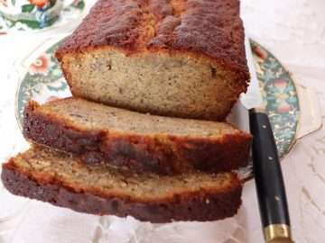 Banana, Caramel and Miso Pound Cake