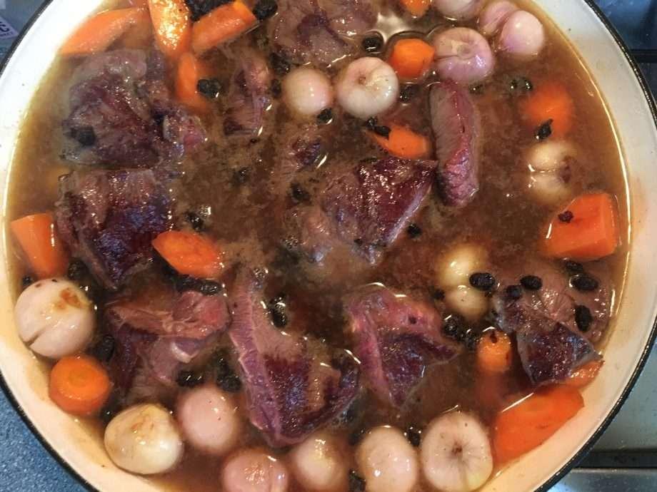 Slow-Braised Beef Cheeks in Black Bean Sauce