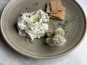 Sheep's Milk Labneh with Herbs